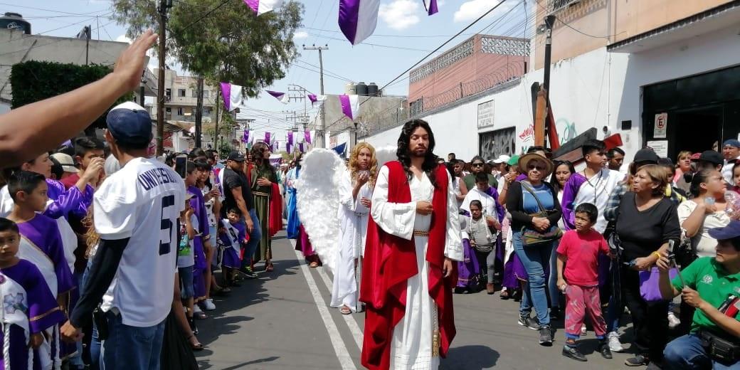 Arranca 176 representación de Cristo en Iztapalapa