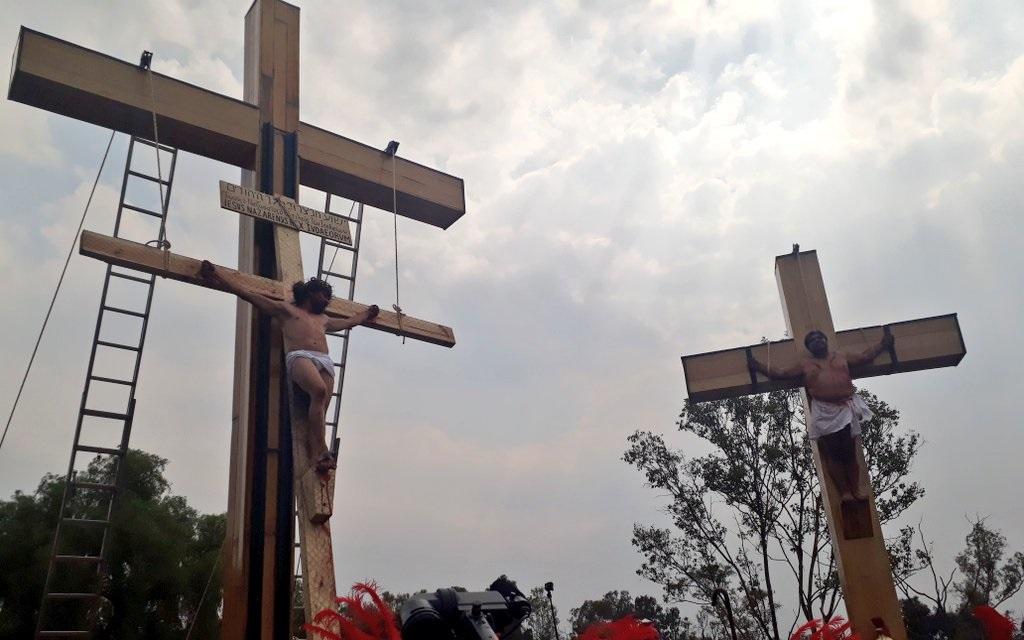 Conluye con éxito la 176 representación de  la Pasión de Cristo en Iztapalapa