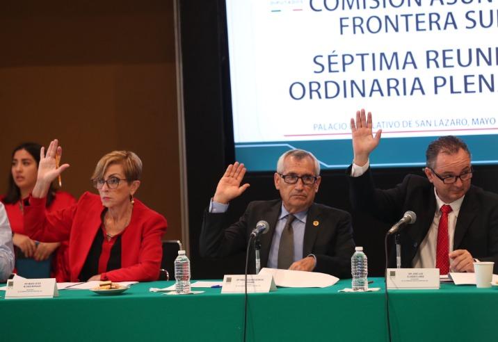 Avala Frontera Sur en san Lázaro Plan Nacional de Desarrollo