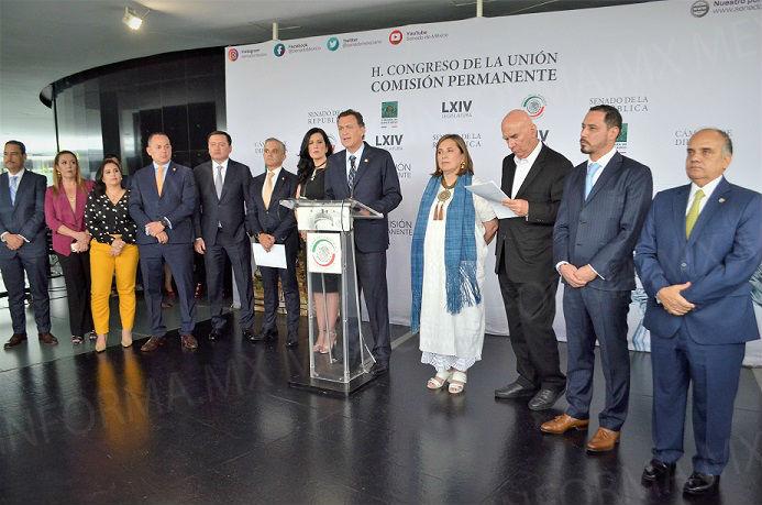 PAN confía en relación colaborativa entre México y Estados Unidos