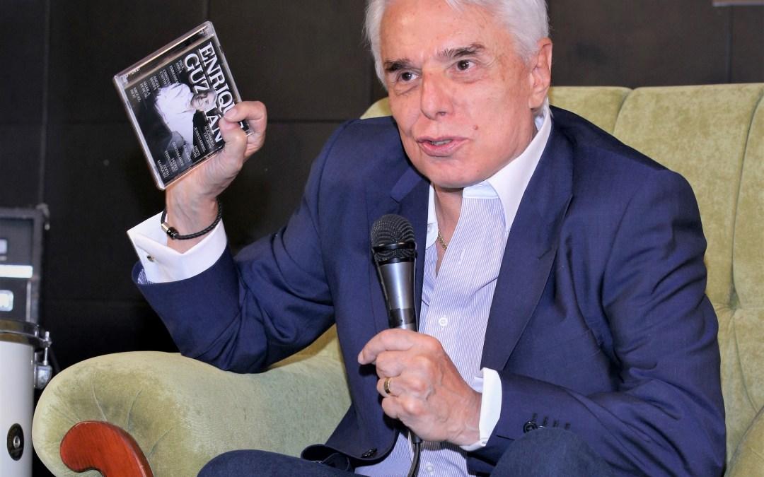 Enrique Guzmán celebra con nuevo disco, trayectoria de 60 años