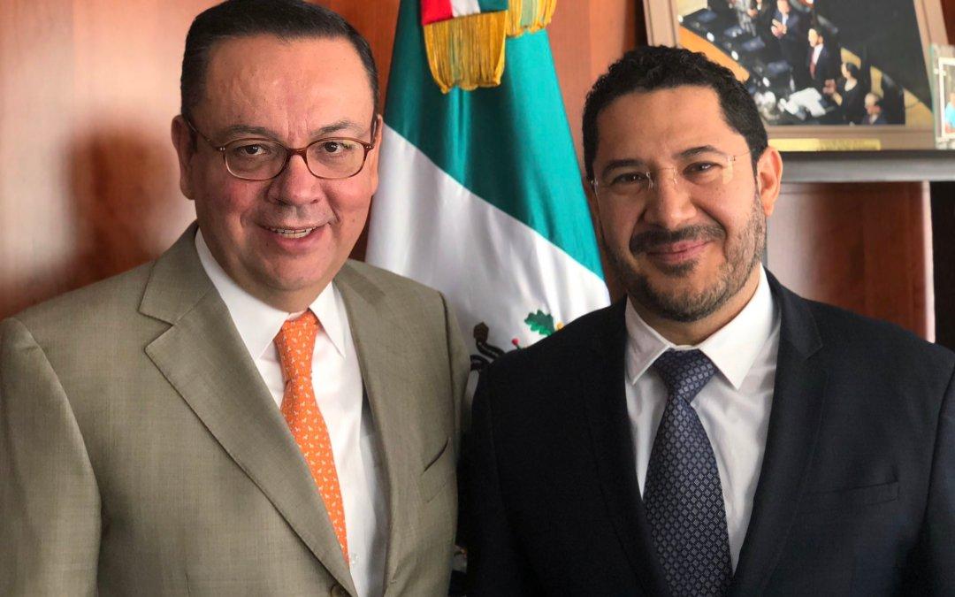 Se reintegra Germán Martínez al Senado a bancada de MORENA