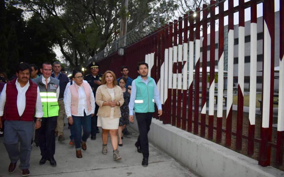 CDMX y alcaldía GAM recorren Sendero Seguro en IPN