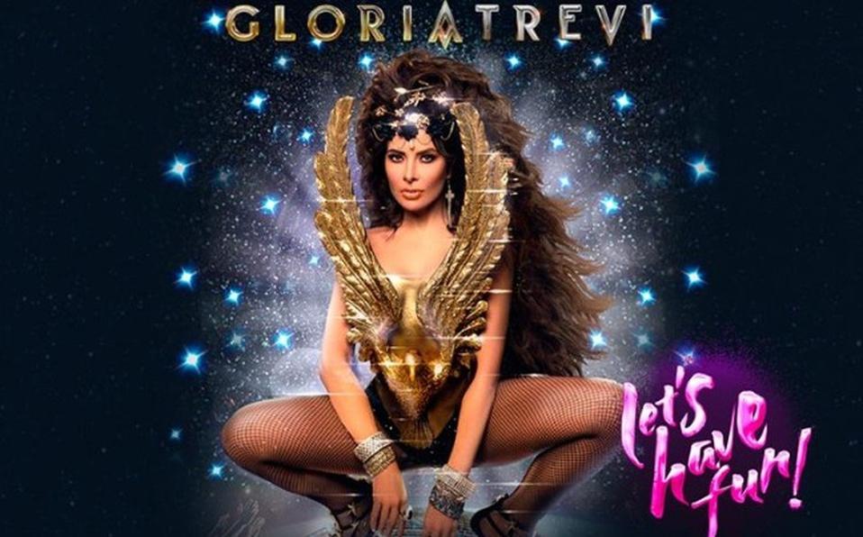 Gloria Trevi lanza su nuevo álbum de estudio Diosa de la Noche