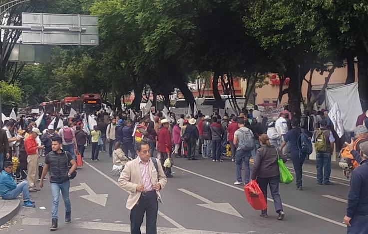 Manifestaciones y evento deportivo complicarán vialidades