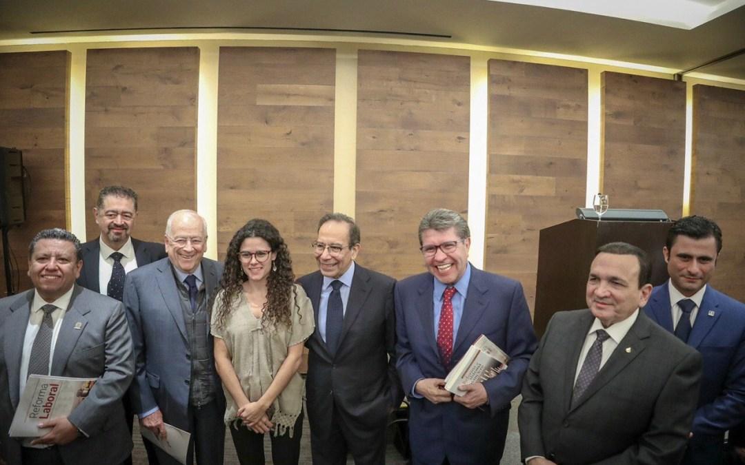 Reunión Monreal-COPARMEX; se quedaron  sin interlocutores con el Congreso