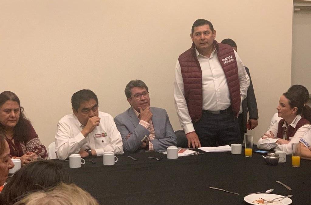 Encuentro por la reconciliación de Morena en Puebla