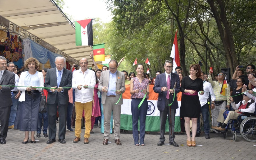 Inaugura Sheinbaum Feria de las Culturas Amigas