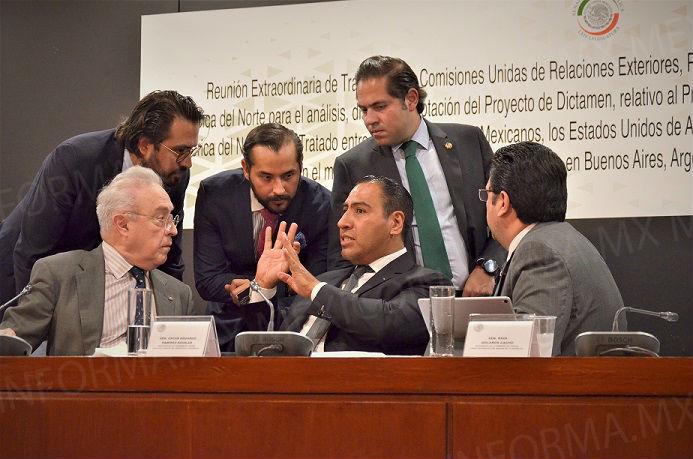 Decretan receso comisiones en Senado, por T-MEC