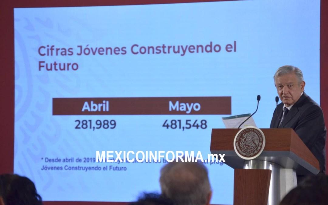 Defiende López Obrador empleo; si hay, dice