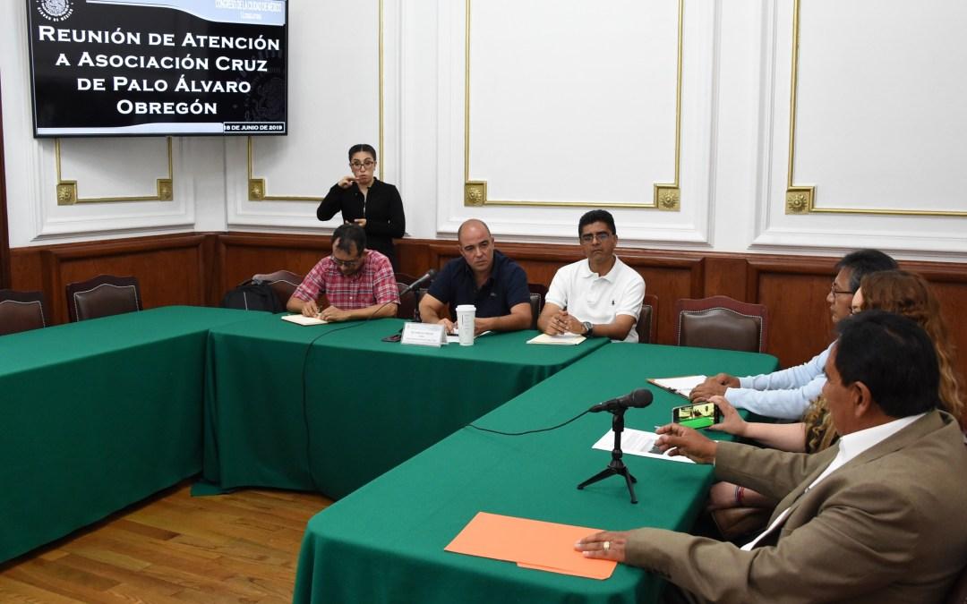 Se reúnen legisladores con familias de mineros desalojados en Santa Fe