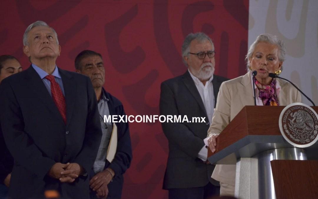 Nunca me presionaron como Ministra para el caso ABC: Sánchez Cordero