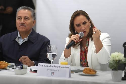 Elección para nueva dirigencia del PRI será intensa y apasionada: Ruiz Massieu