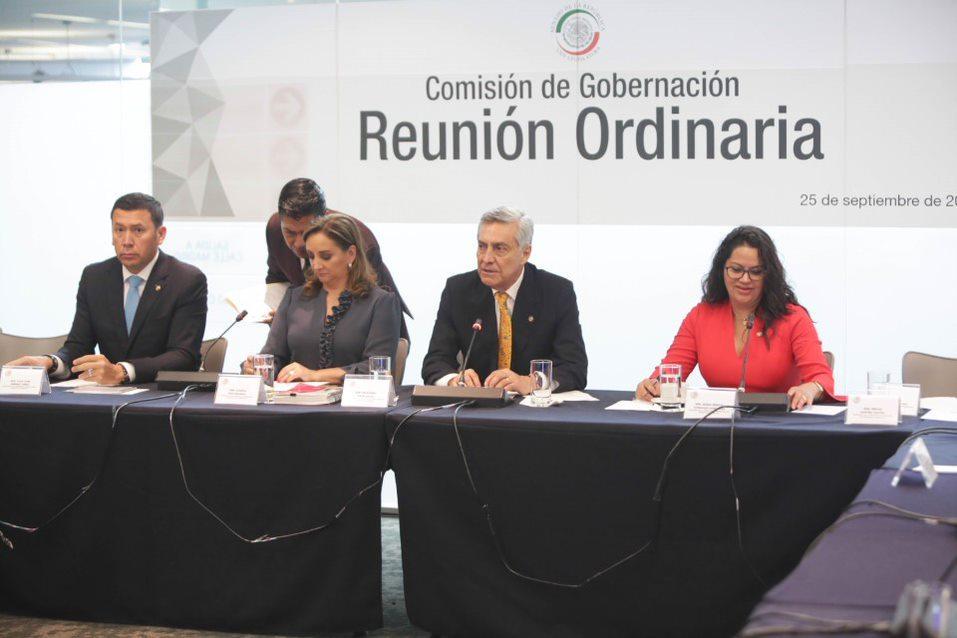 Avala Comisión entrada en vigor del Instituto para Devolver al Pueblo lo Robado