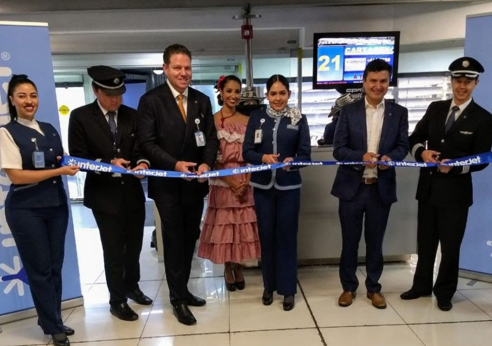 Inicia Interjet vuelos de CDMX a Cartajena, Colombia