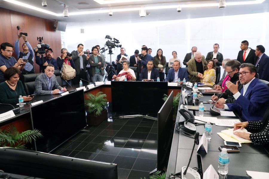 Informa Ebrard a Senado sobre negociaciones del T-Mec