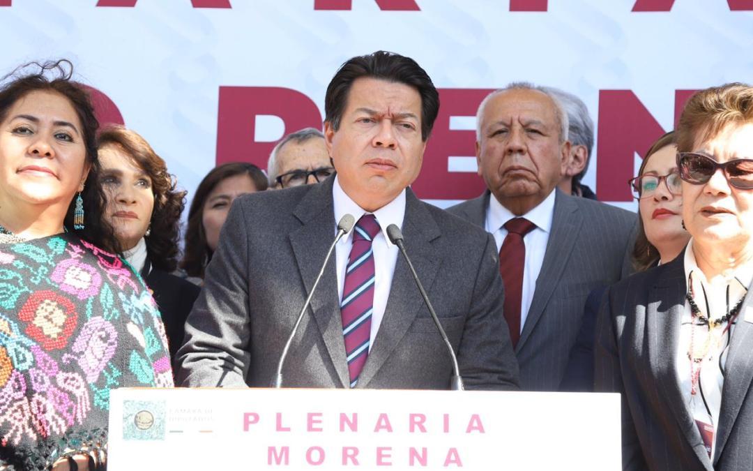 Respaldan diputados de Morena a Garduño de Migración