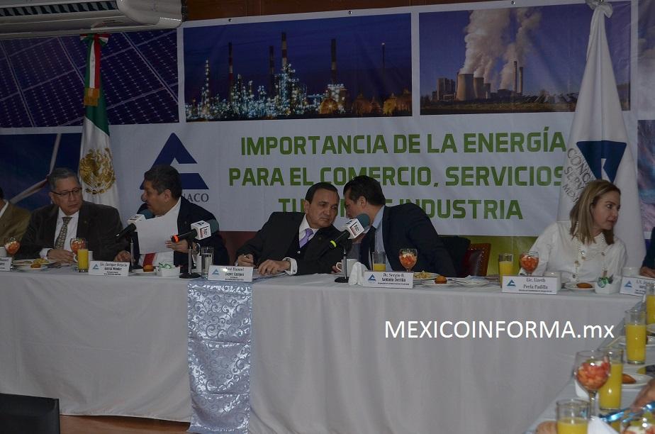 Falta de gas natural en Sur-Sureste afecta productividad de empresas: Concanaco