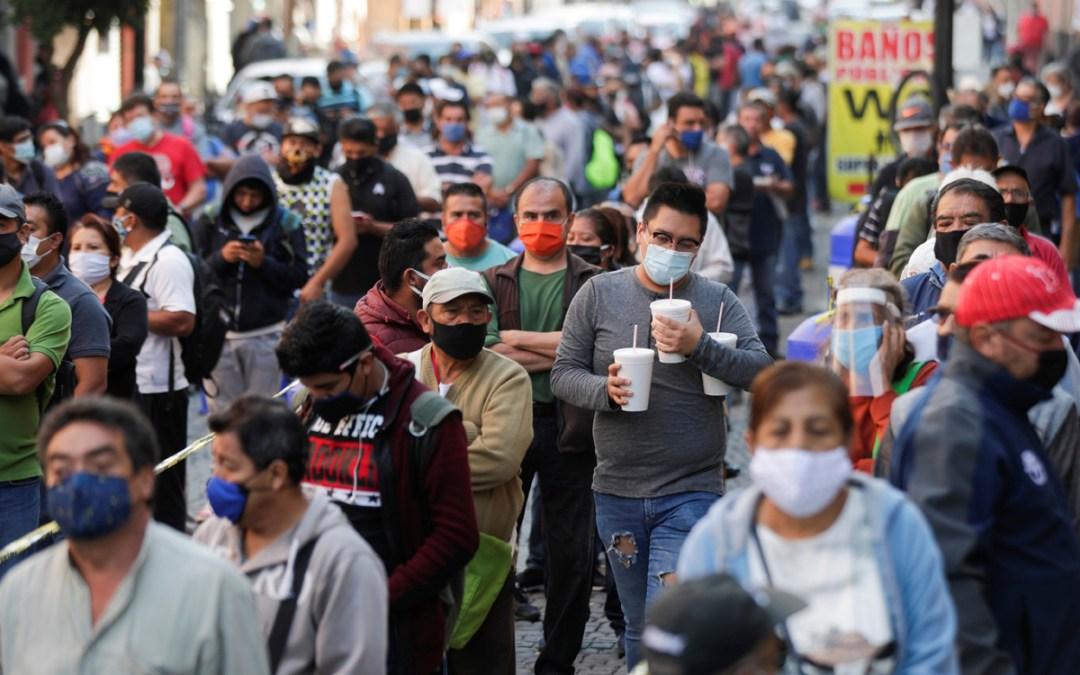 Crece la pobreza en México, suman más de 55 millones: Coneval