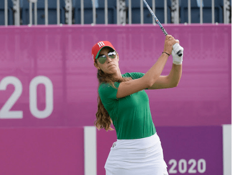 María Fassi mejora posición en segunda ronda de Tokio 2020