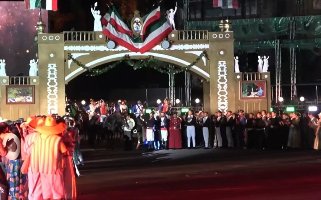 Inicia AMLO festejos por los 200 años de la Independencia