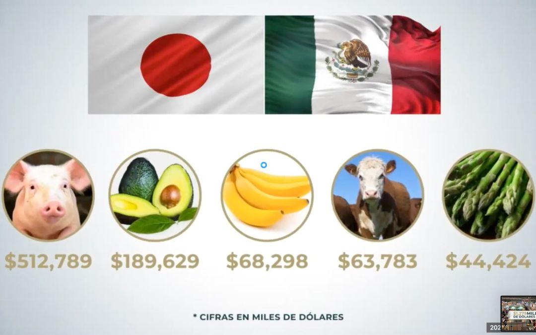 Japón, el principal mercado de alimentos mexicanos en Asia-Pacífico