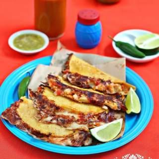 Tripe Quesadillas Recipe & How to Video