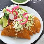 Tuna empanadas a mexican recipe.