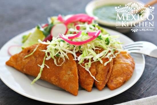 Tuna empanadas mexican