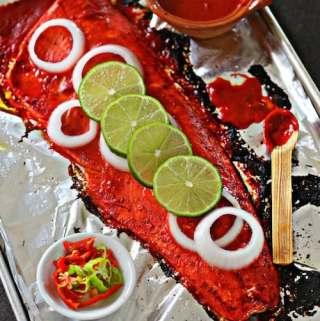 Yucatan Style Roasted Salmon