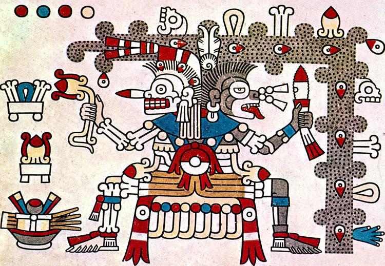 Image result for aztec gods