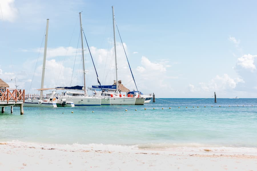 SAT Mexico tours and travel catamaran isla mujeres tour catamarans