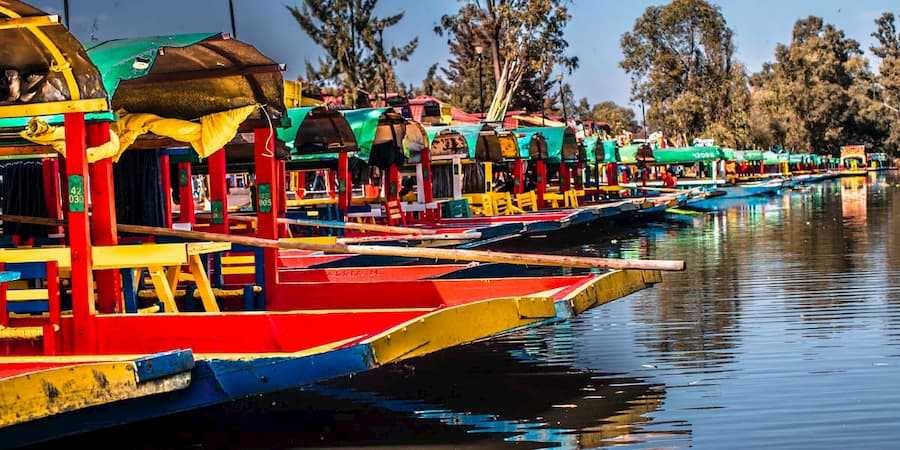 SAT mexico tours xochimilco mexico city gardens