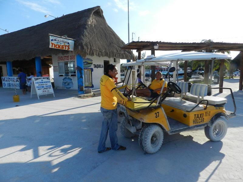 Isla Holbox taxi