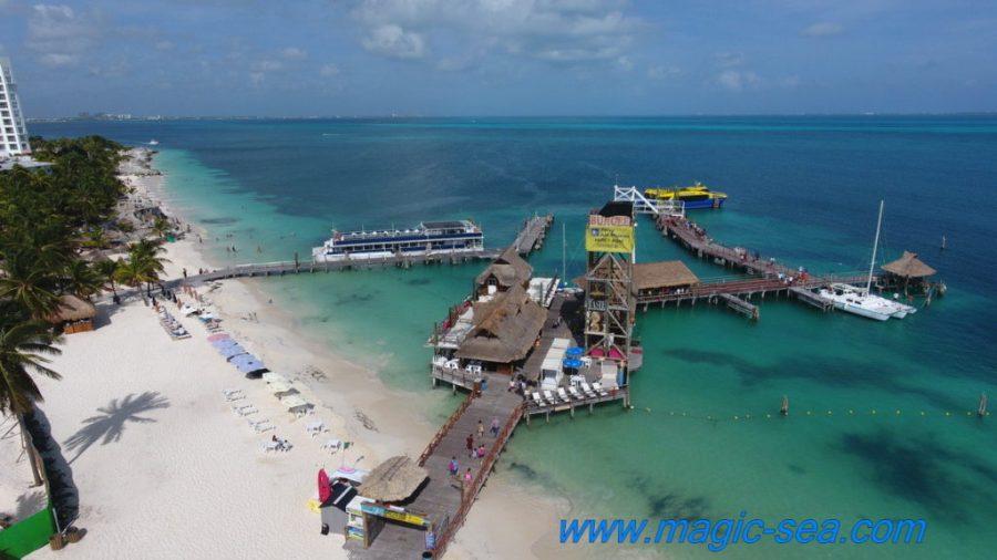 Pier Tortugas Cancun