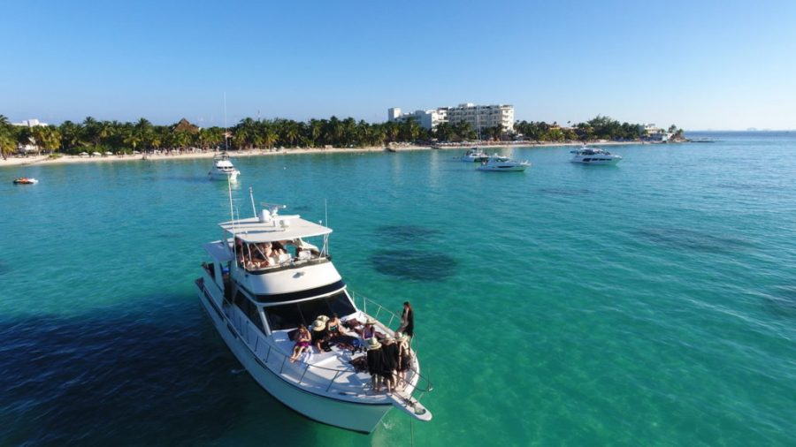 Party Yacht Cancun Isla Mujeres