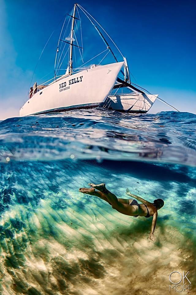 catamaran en cozumel