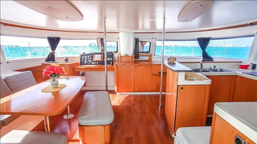 Catamaran view