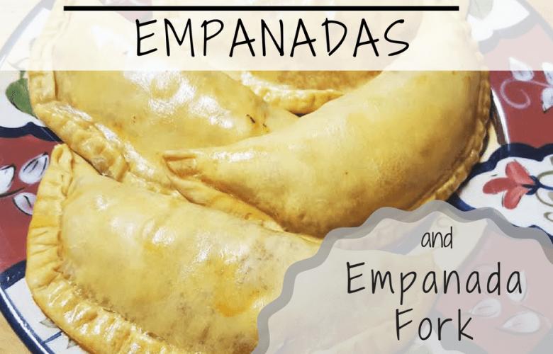 Baked Beef Empanadas & Empanada Fork Giveaway!
