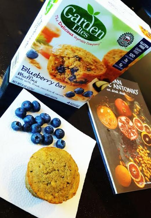 Veggies done right garden lite - Garden lites blueberry oat muffins ...