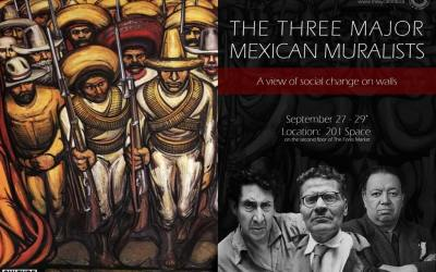The three major Mexican Muralists – A view of social change on walls | Culture Days