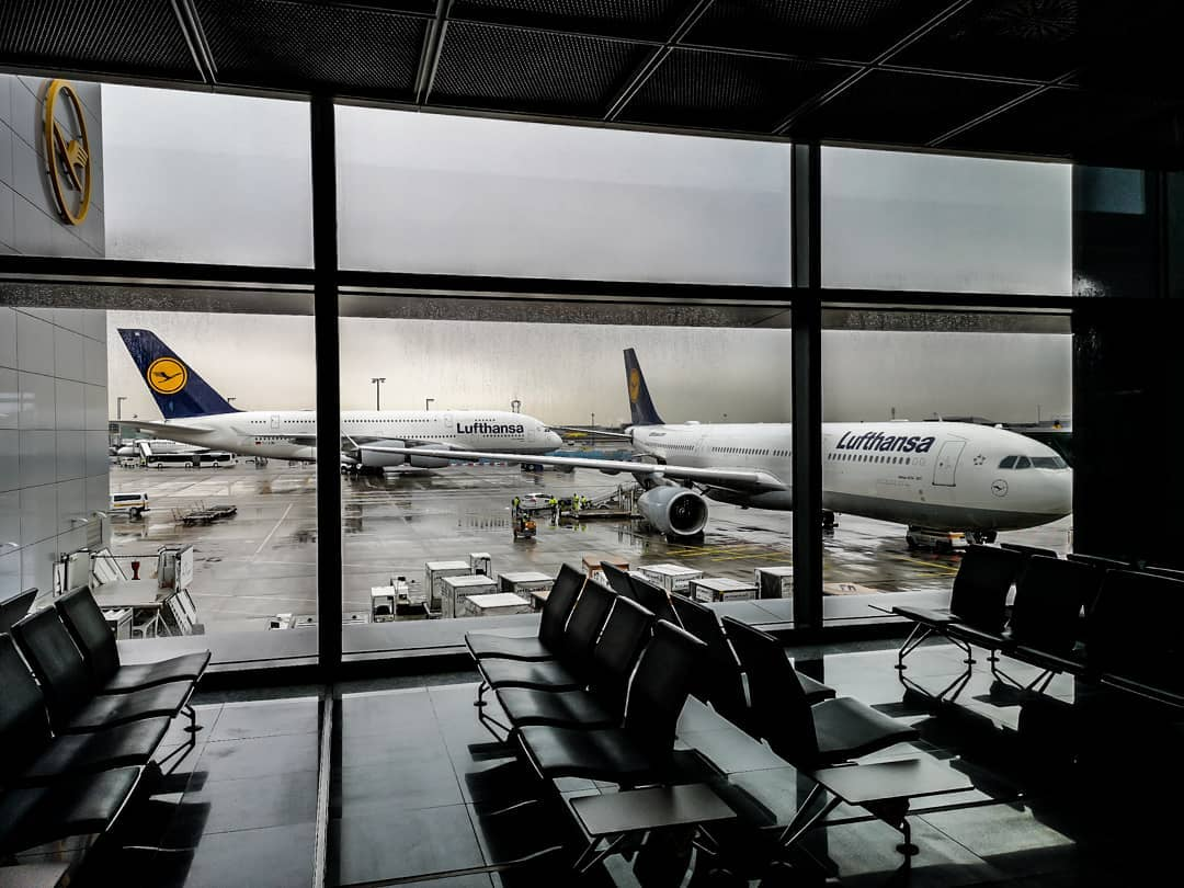 Airport @frankfurtairport @lufthansa
