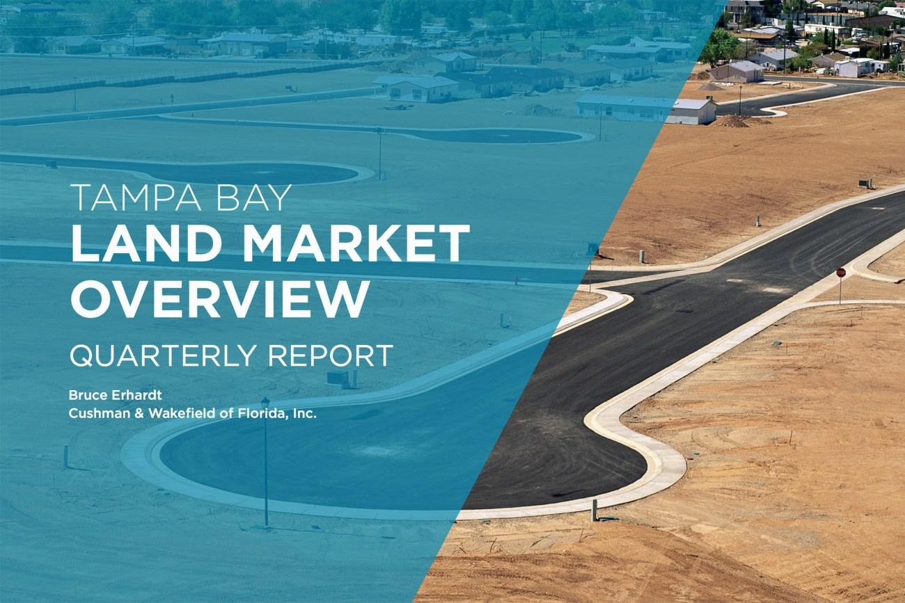 Cushman & Wakefield's Erhardt Releases Tampa Bay Land Report