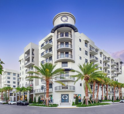 Cushman & Wakefield Lists Downtown Fort Lauderdale's The Queue Apartments