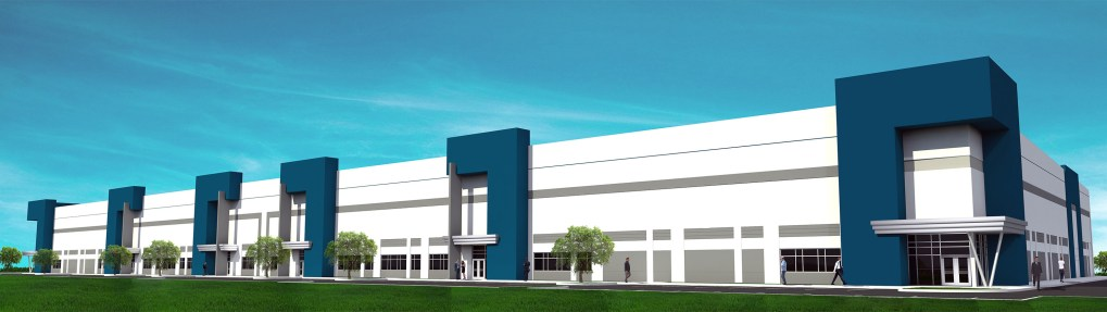 I-595 Business Center Rendering