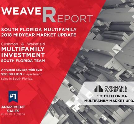 Cushman & Wakefield Report: Record Low Vacancies Highlight Bullish South Florida Multifamily Market