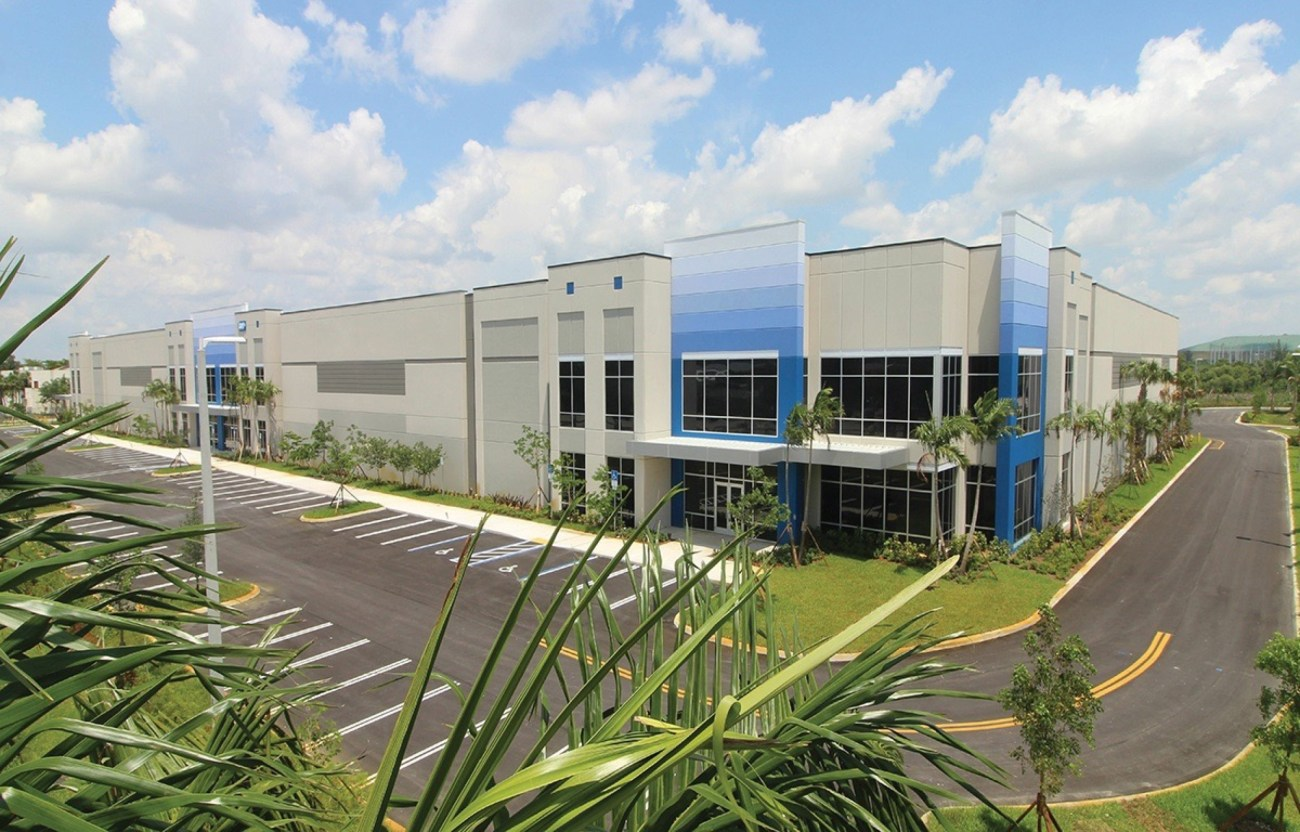 Cushman & Wakefield Negotiates ±94,261 SF Lease with Marble of the World at Pompano Business Center II