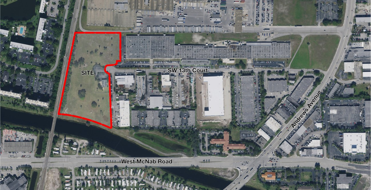 Cushman & Wakefield Represents Stimpson in $9.551M Sale of ±9.2-Acre Industrial Site in Pompano Beach​
