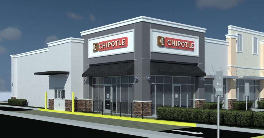 Rolling Oaks Commons Chipotlane Rendering