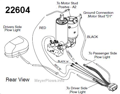 meyerplows  meyer plow main wiring harnesses info and